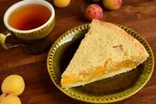 Абрикосовый пирог из двух видов теста