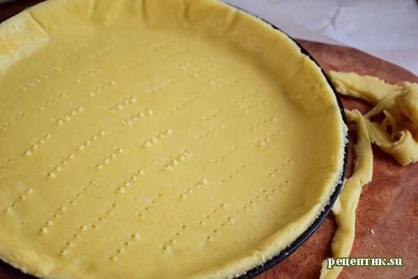 Абрикосовый пирог из двух видов теста - рецепт с фото, шаг 6