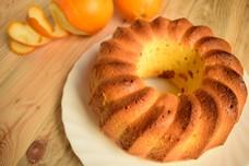Апельсиновый кекс на сметане