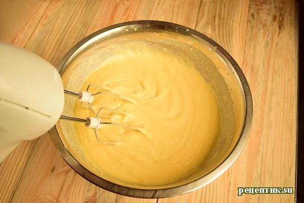 Апельсиновый кекс на сметане - рецепт с фото, шаг 7