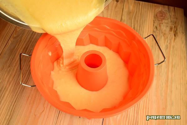 Апельсиновый кекс на сметане - рецепт с фото, шаг 8
