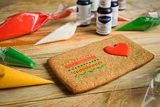 Рецепт сахарной белковой глазури (айсинга) для росписи пряников