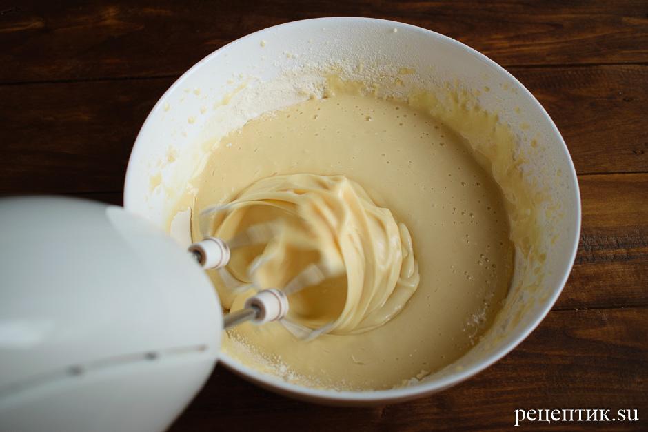 Блинный торт «Крепвиль» с маскарпоне - рецепт с фото, шаг 3
