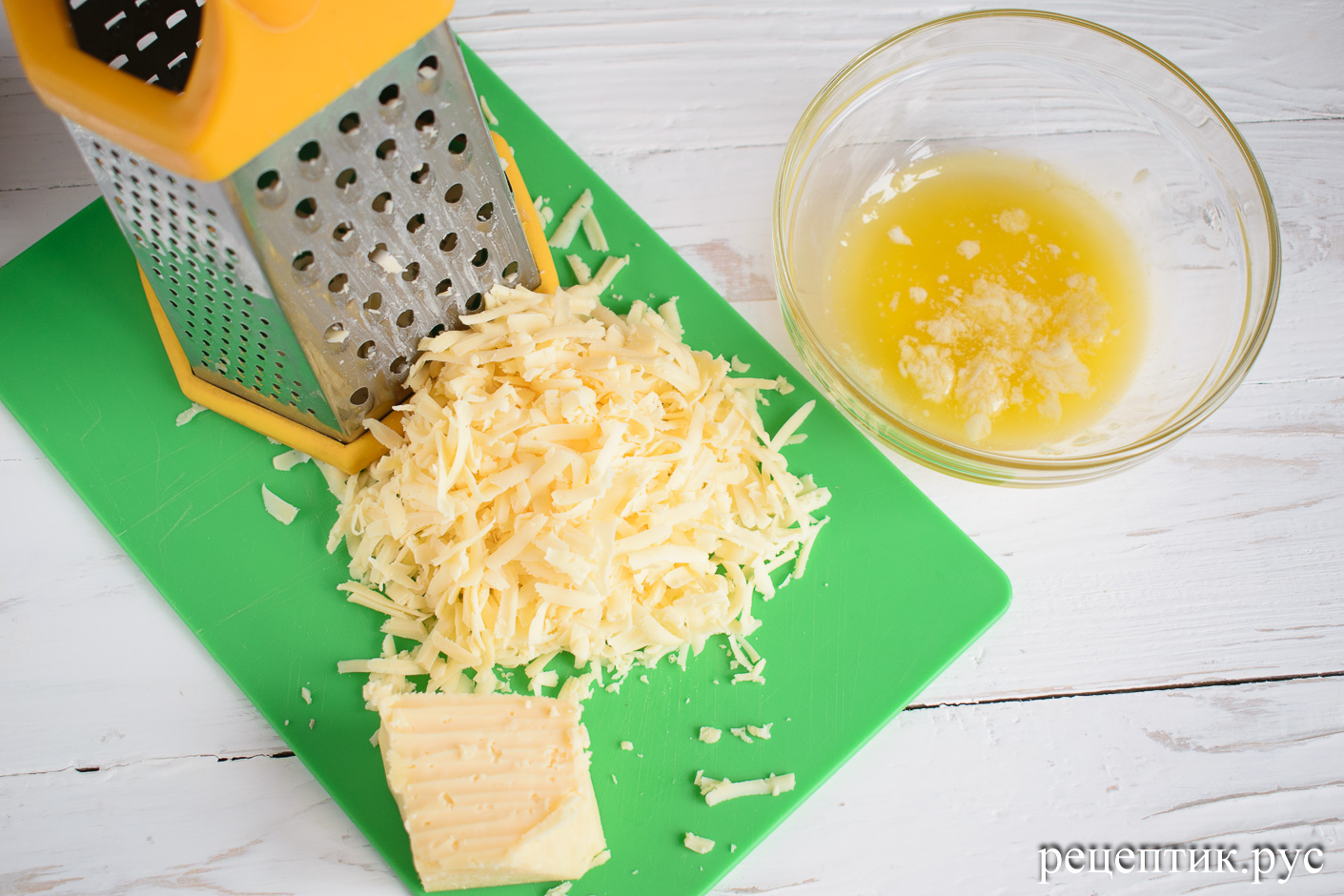 Дрожжевая булка с сыром - рецепт с фото, шаг 5