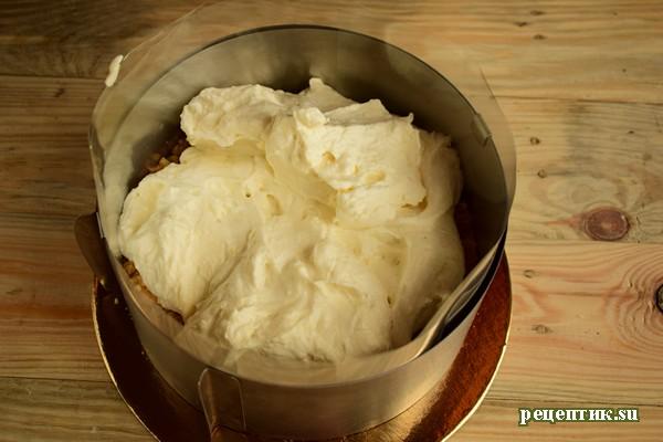 Чизкейк без выпекания с клубникой - рецепт с фото, шаг 16
