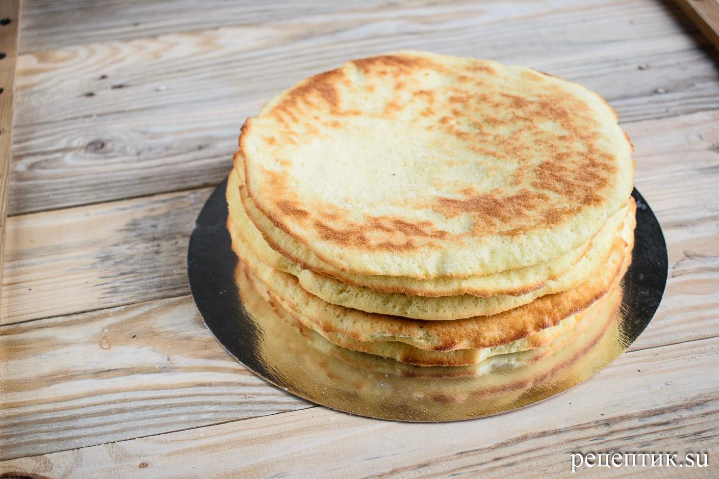 Торт «Добош» - рецепт с фото, шаг 10