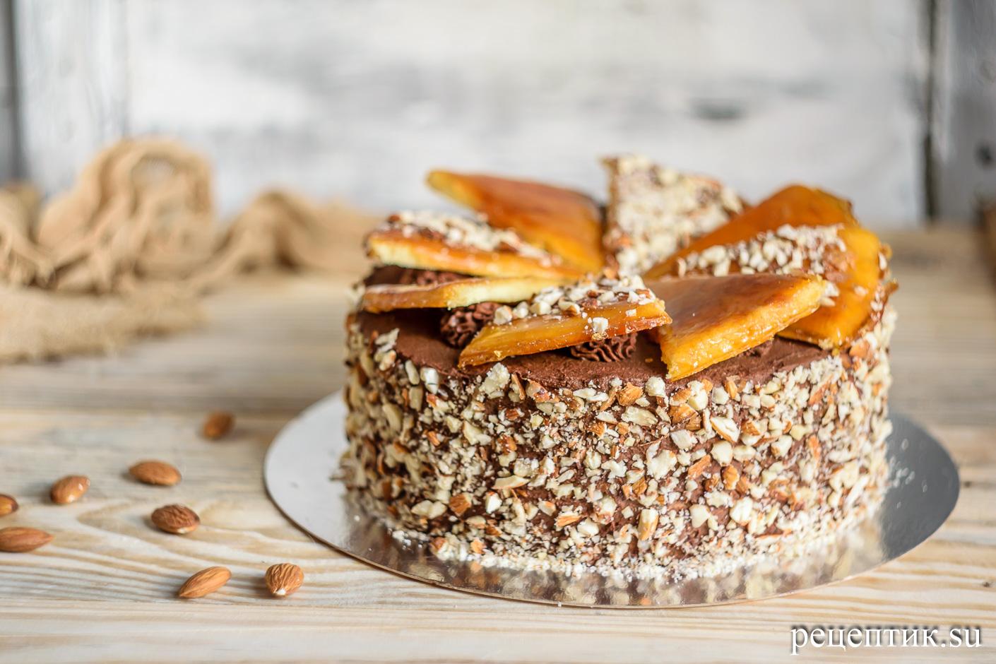 Торт «Добош» - рецепт с фото