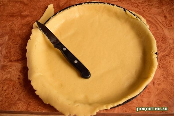 Эльзасский пирог со сливами и сливочной заливкой - рецепт с фото, шаг 7