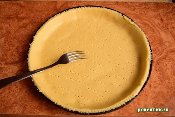 Эльзасский пирог со сливами и сливочной заливкой - рецепт с фото, шаг 8