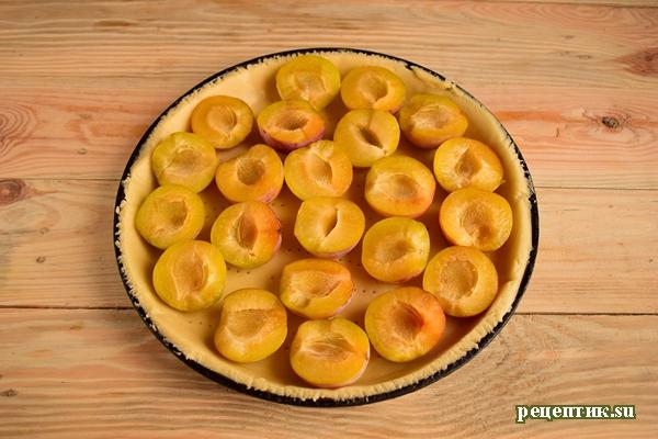 Эльзасский пирог со сливами и сливочной заливкой - рецепт с фото, шаг 10