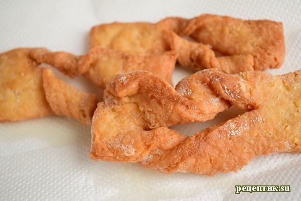 Вкусный хрустящий хворост рецепт пошагово
