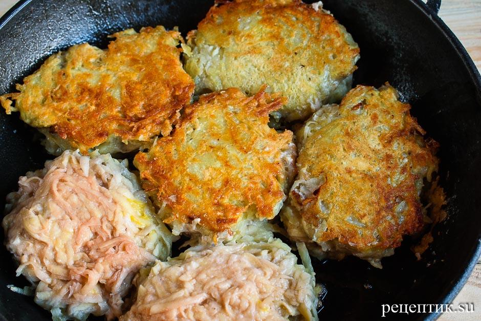 Картофельные драники с мясом (колдуны) - рецепт с фото, шаг 10