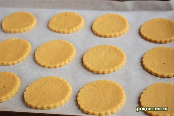 Кофейные коржики из песочного теста - рецепт с фото, шаг 8