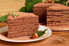 Рецепт кофейно-шоколадного торта с нутеллой «Ореховый мокко»