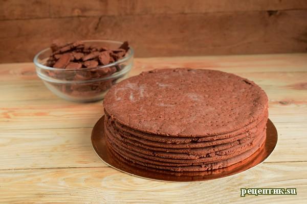 Кофейно-шоколадный торт с нутеллой «Ореховый мокко» - рецепт с фото, шаг 7