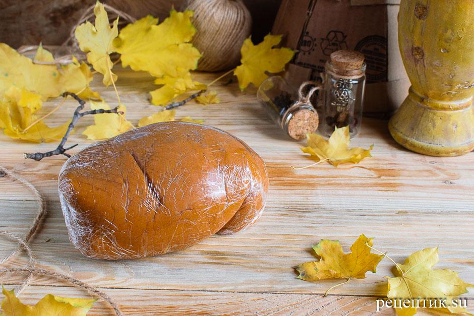 Козульное пряничное тесто на карамели - рецепт с фото