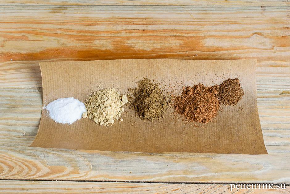 Козульное пряничное тесто на карамели - рецепт с фото, шаг 8