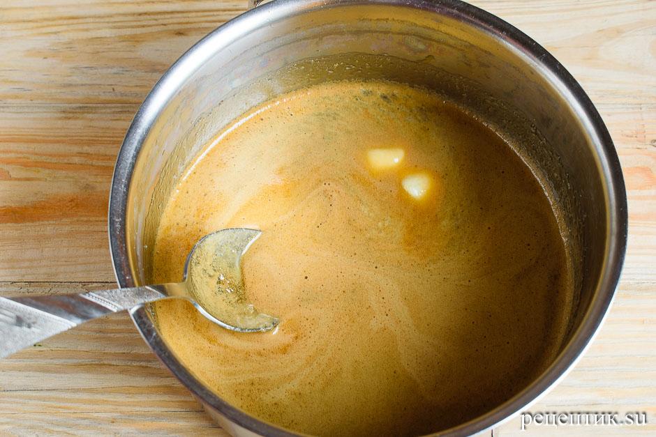 Козульное пряничное тесто на карамели - рецепт с фото, шаг 7