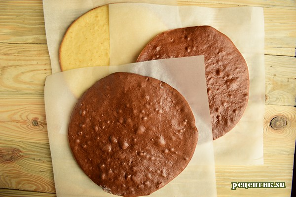 Шоколадный торт «Кучерявый мальчик» - рецепт с фото, шаг 12