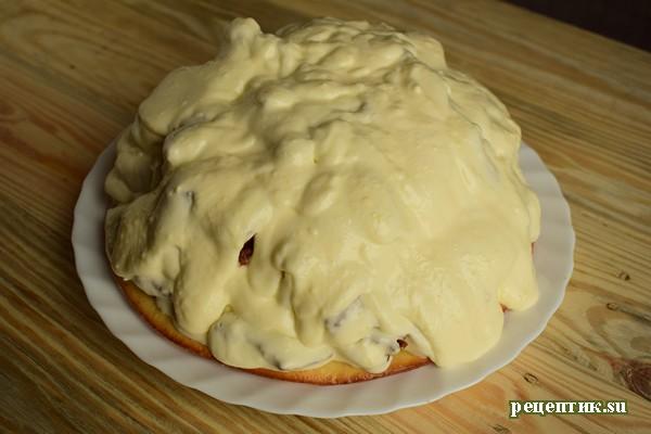 Шоколадный торт «Кучерявый мальчик» - рецепт с фото, шаг 18