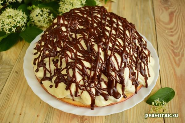 Шоколадный торт «Кучерявый мальчик» - рецепт с фото