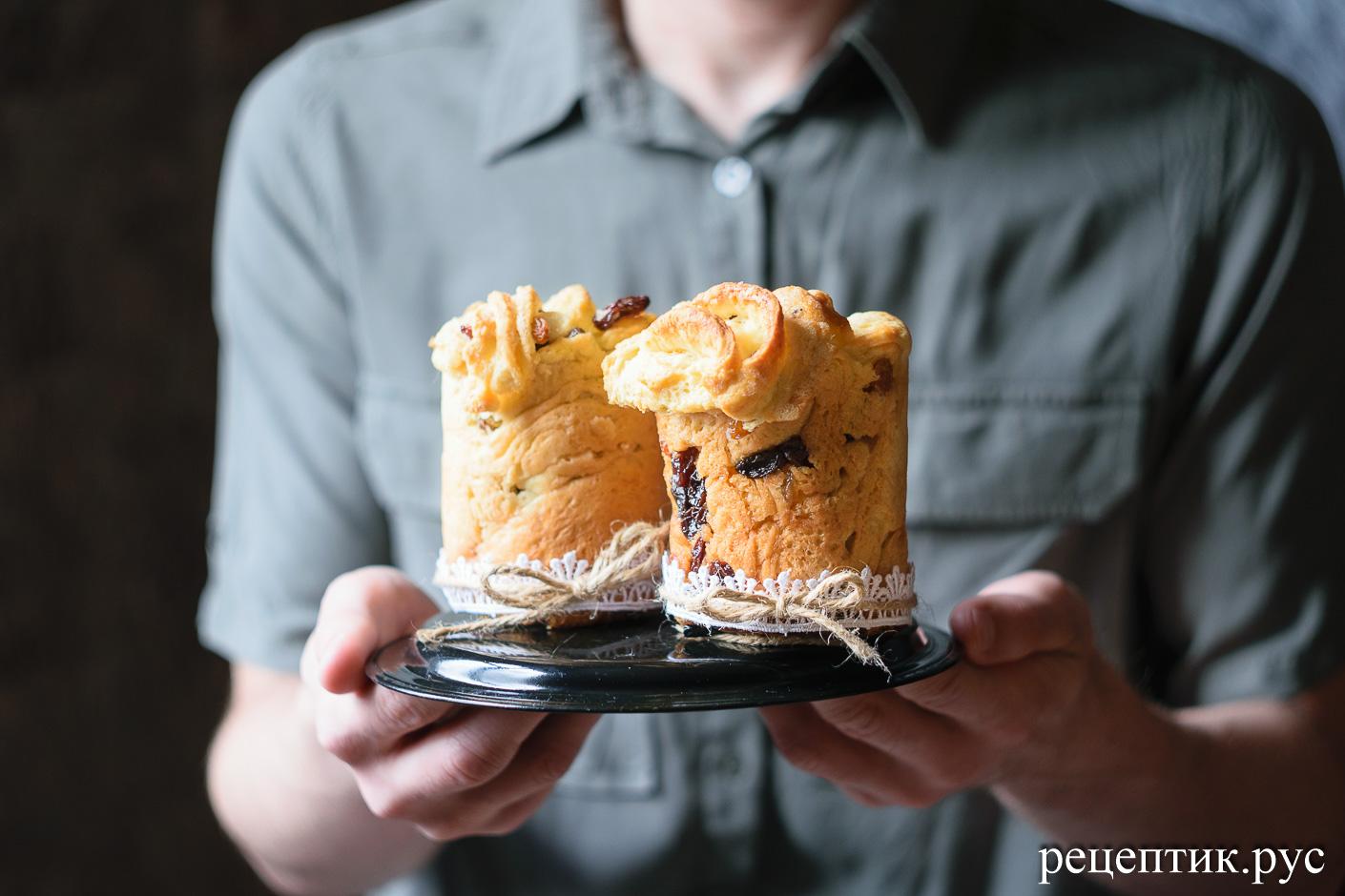 Пасхальный кулич-краффин – простой, быстрый и невероятно вкусный - рецепт с фото