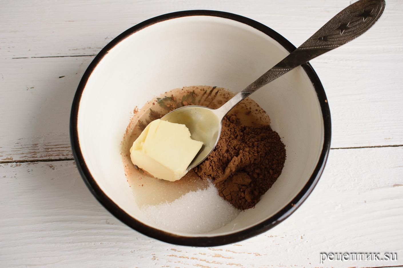 Торт «Ленинградский» — песочный торт с шоколадным масляным кремом - рецепт с фото, шаг 13