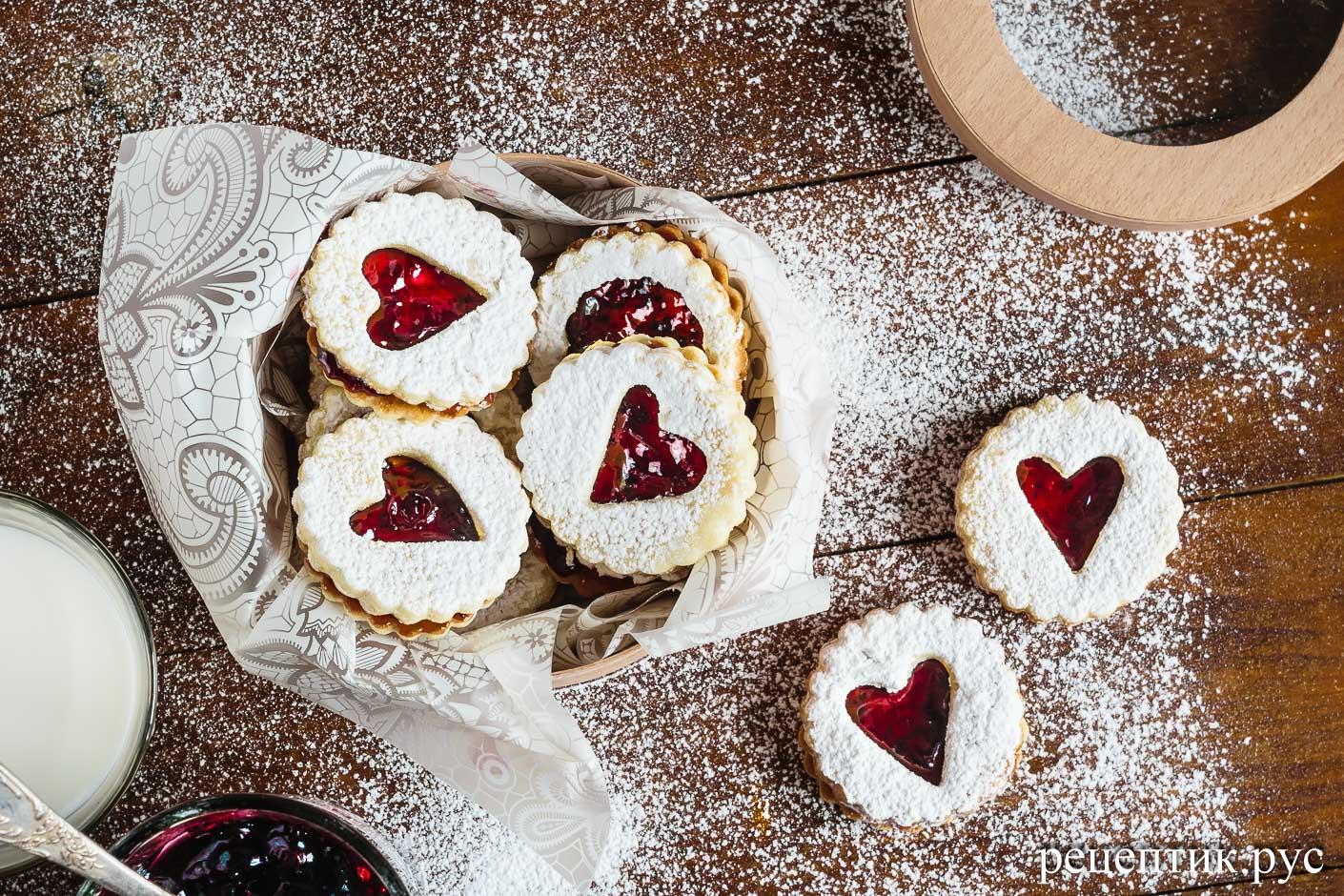 Линцерское печенье - рецепт с фото
