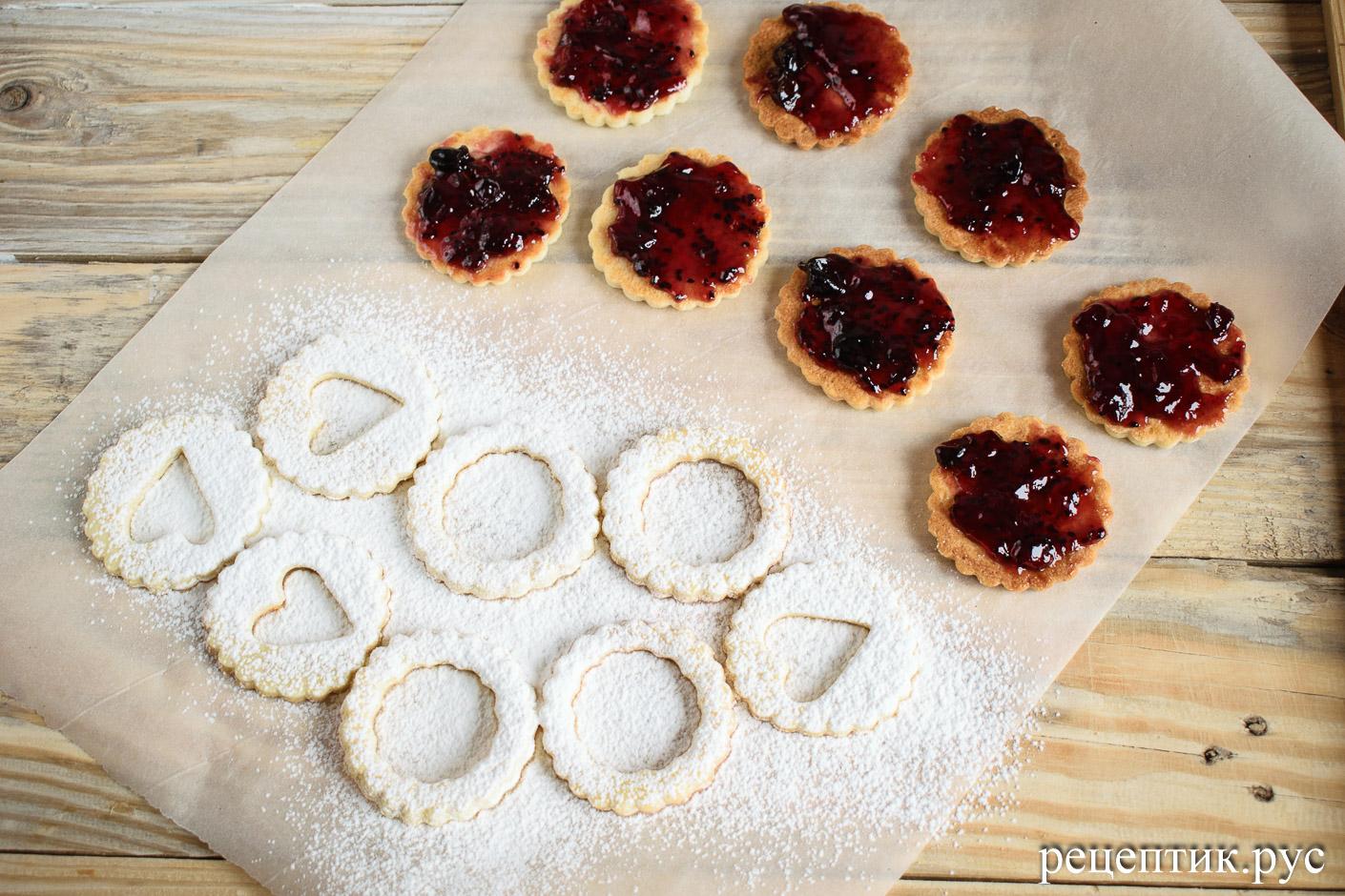 Линцерское печенье - рецепт с фото, шаг 8