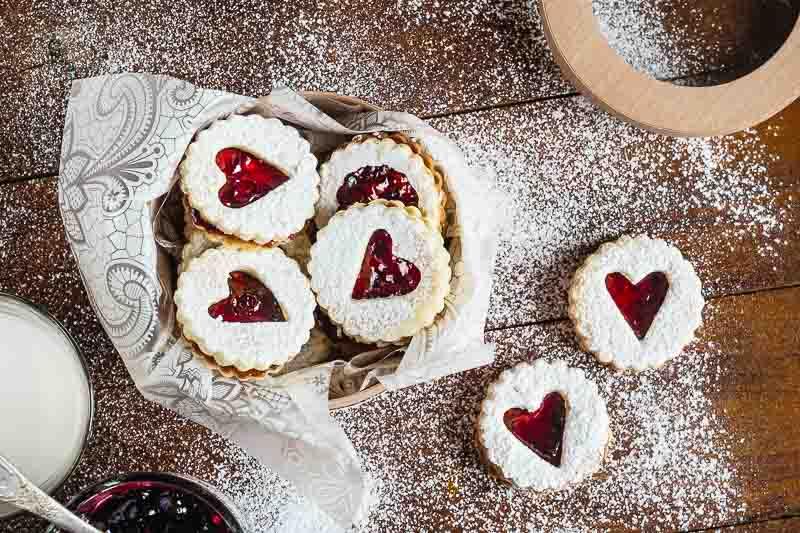 Рецепт линцерского печенья