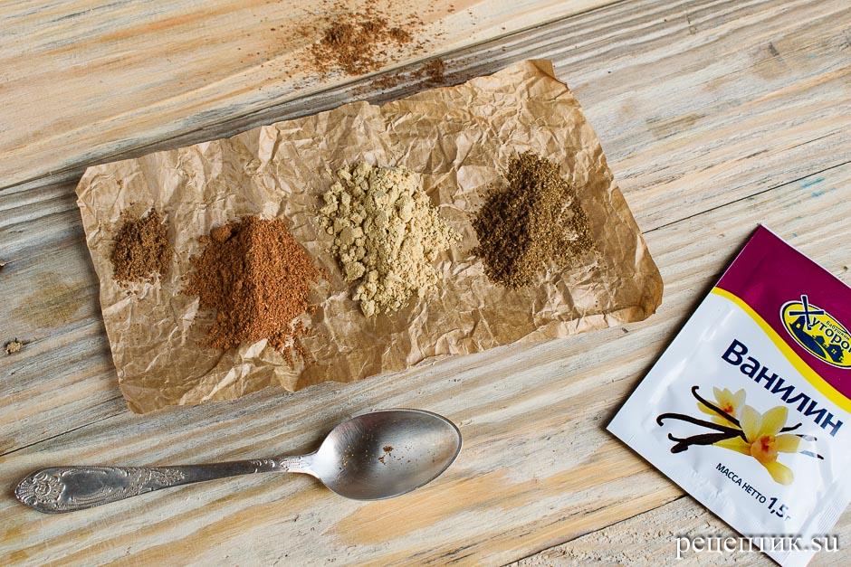 Медовое пряничное тесто - рецепт с фото, шаг 3