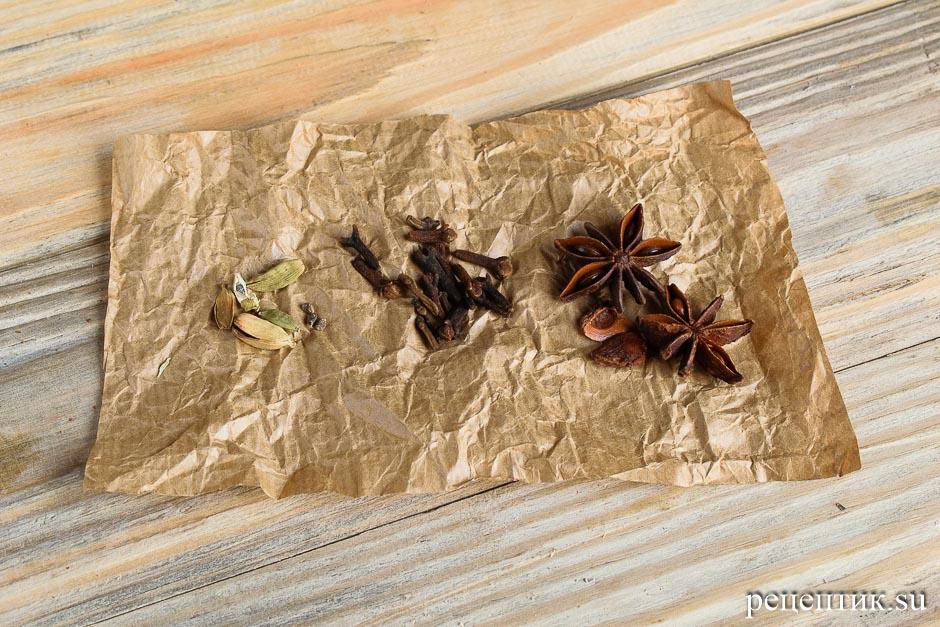 Медовое пряничное тесто - рецепт с фото, шаг 4
