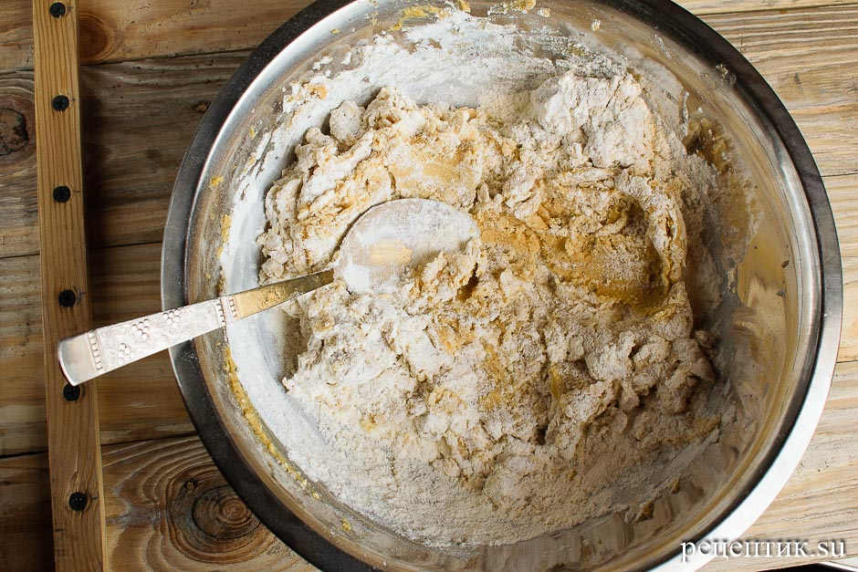 Медовое пряничное тесто - рецепт с фото, шаг 9