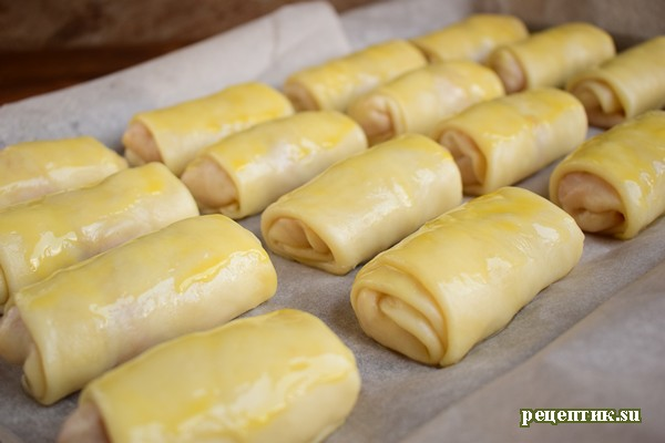 Молдавские пирожки «Вэрзэре» с капустой - рецепт с фото, шаг 10