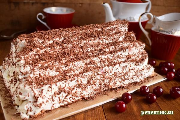 Торт «Монастырская изба» - рецепт с фото, результат