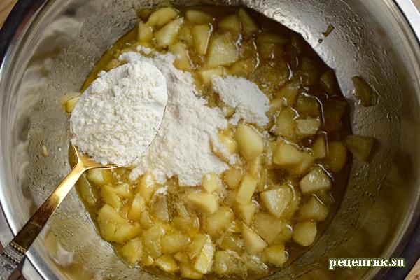 Мягкий медовик со сметанным кремом и яблоками - рецепт с фото, шаг 8