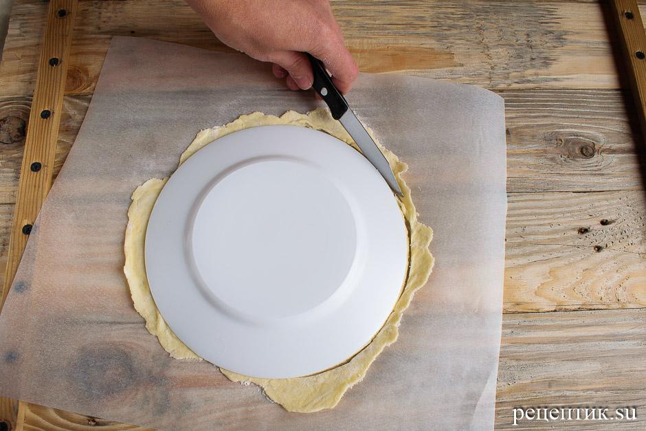 Торт «Наполеон» из рубленого слоеного теста с заварным кремом - рецепт с фото, шаг 9