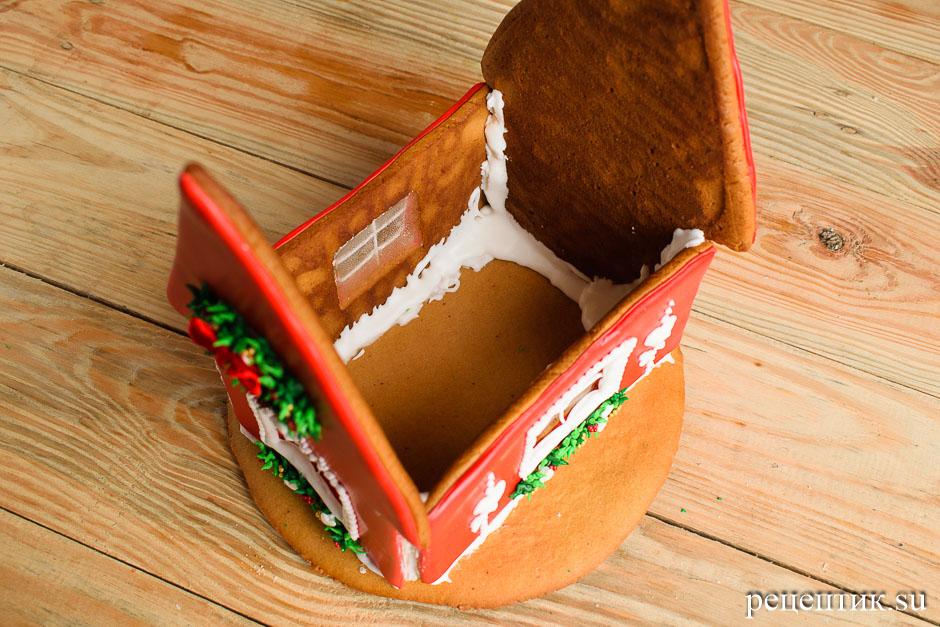 Новогодний пряничный домик - рецепт с фото, шаг 22