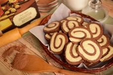 Рецепт сахарного печенья «День и ночь»