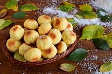 Печенье «Кокосовые шарики»
