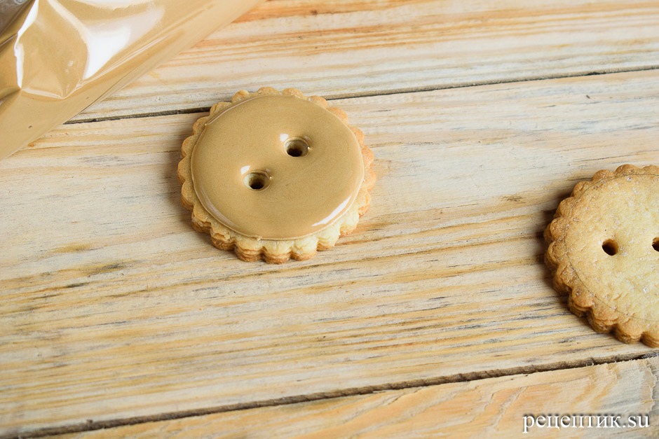 Песочное печенье с предсказаниями - рецепт с фото, шаг 15