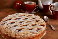 Пирог с фруктовым повидлом «Баловница»
