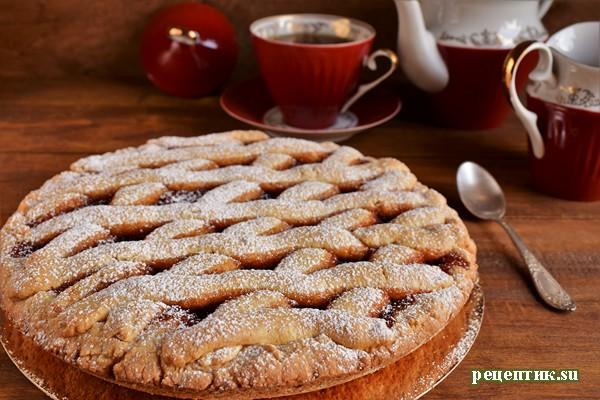 Пирог с фруктовым повидлом «Баловница» - рецепт с фото