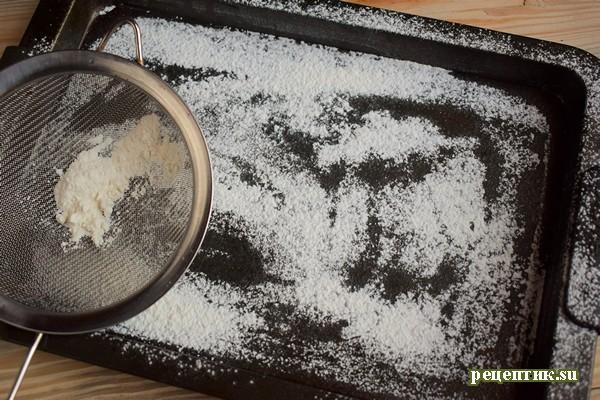 Бисквитный пирог с крыжовником и безе - рецепт с фото, шаг 5
