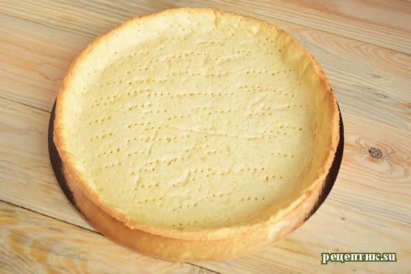 Пирог со свежей малиной и творожным сыром - рецепт с фото, шаг 10