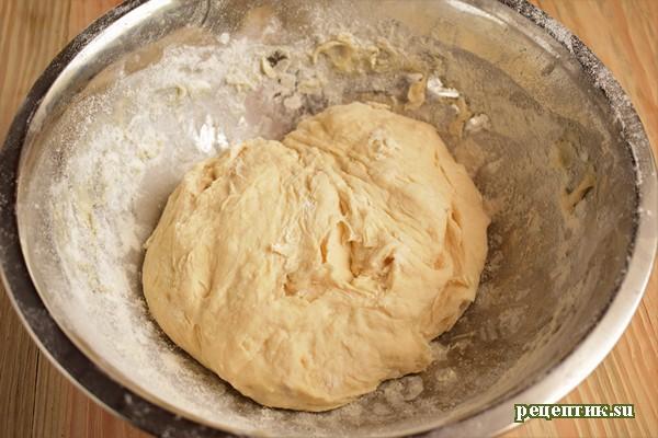 Пирожки жареные дрожжевые с абрикосами - рецепт с фото, шаг 3