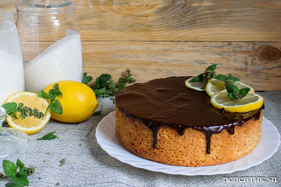 Польский лимонный кекс на желтках — рассыпчатый и нежный - рецепт с фото, результат