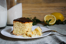 Польский лимонный кекс на желтках — рассыпчатый и нежный