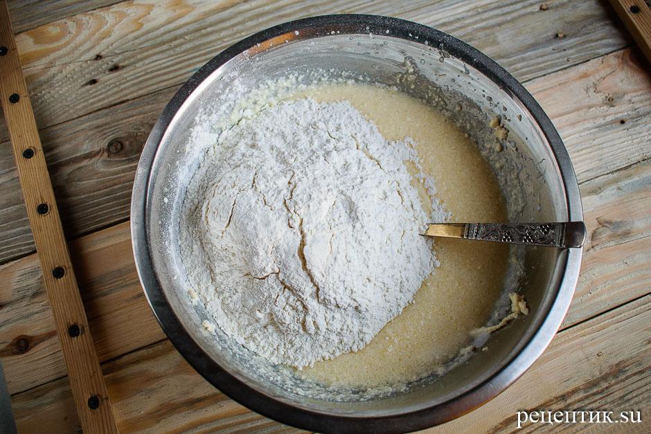 Простые и вкусные кексы с изюмом - рецепт с фото, шаг 6