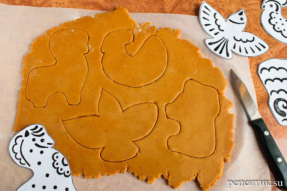 Простые расписные пряники-козули - рецепт с фото, шаг 7